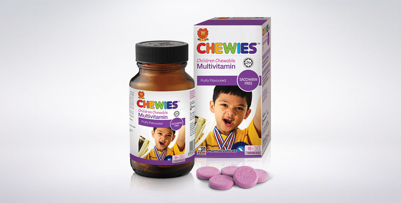 CHEWIES Multivitamin Tablet (Fruity)